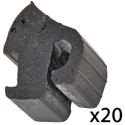 Spares2go - Parrilla de goma amortiguadora para horno Ariston Hobo ...