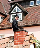 Home Comforts LAMINATED POSTER Chimney Sweep Cylinder Fireplace Luck Black Suit Poster