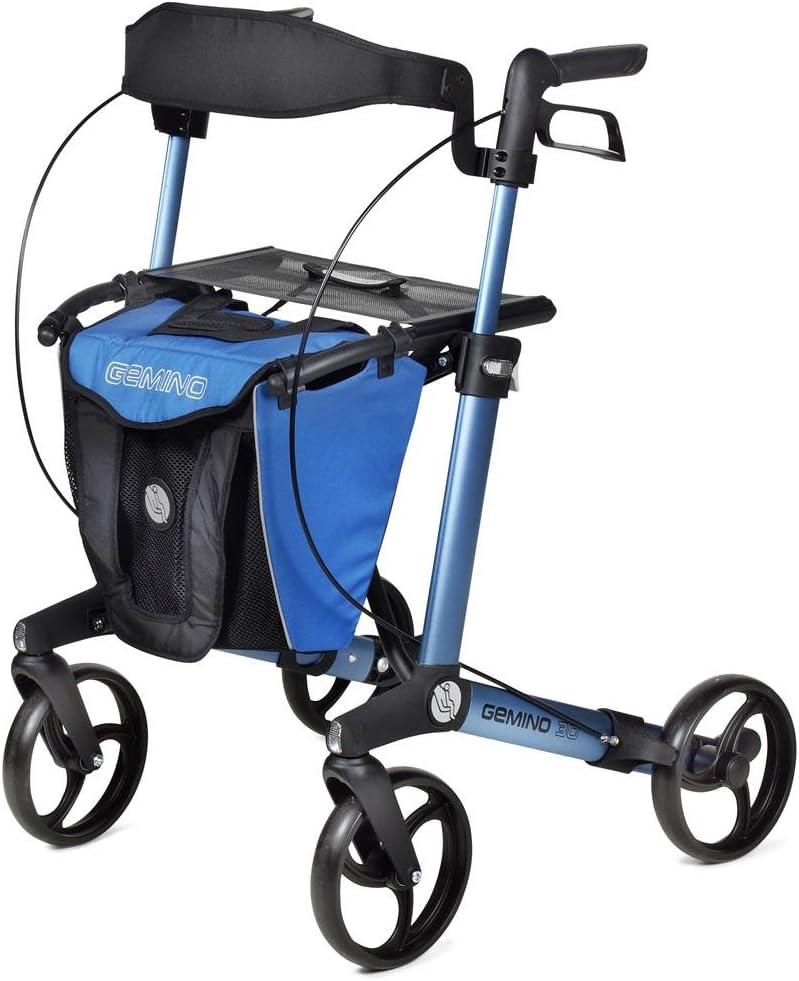 Desventaja Care gemino 30 M Midnight Colour azul ligero andador con ruedas