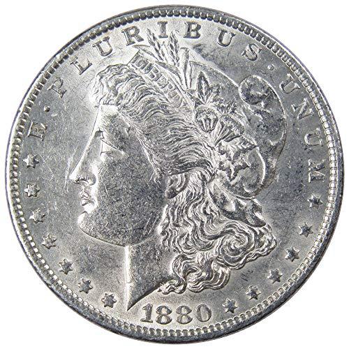 1880 O $1 Morgan Silver Dollar US Coin AU About Uncirculated (1880 O Morgan Silver Dollar Coins)