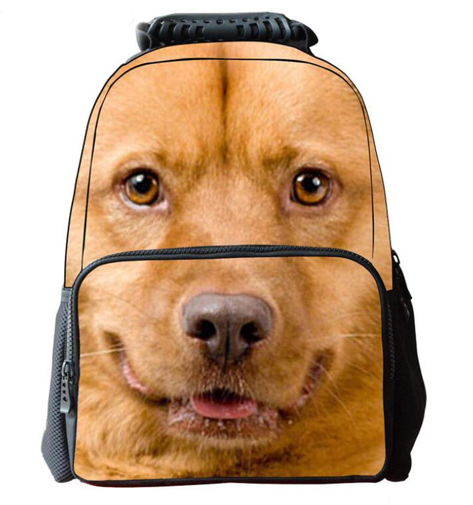 LIXBB Outdoor Product//Fashion Bag Childrens Backpack Puppy Bag boy Girl Casual Bag Personality Stretchable Hand Bag Student Bag