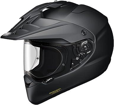 Shoei Casco enduro MX Hornet ADV Matt Negro: Shoei Helmets ...