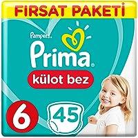 Prima Külot Bebek Bezi 6 Beden Ekstra Large Fırsat Paketi 45 Adet