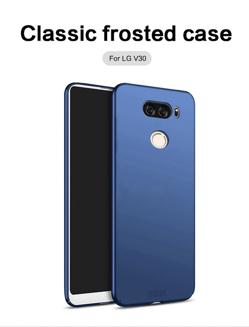 8168c579890 Funda LG V30 - BCIT LG V30 Carcasa [Ultra-Delgado] [Ligera] Anti-rasguños  Estuche para LG V30 - Azul: Amazon.es: Hogar