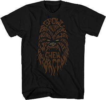 STAR Wars movie HAN SOLO Millennium Falcon Chewbacca WOOKIEE New MEN/'S T-Shirt