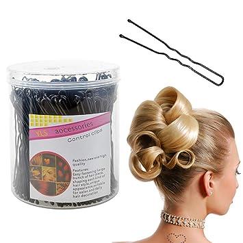 réputation fiable réputation fiable gamme complète d'articles 200 pièces épingles à cheveux en forme de U pinces à cheveux ...