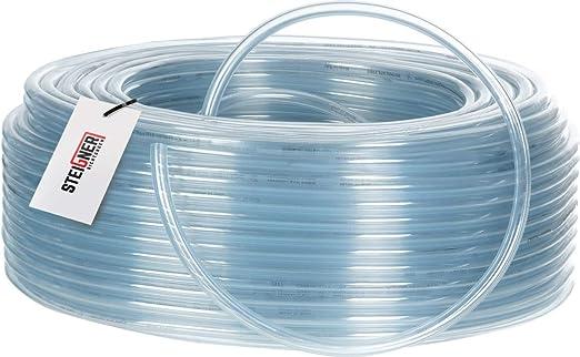 5-10mm NERO//TRASPARENTE 10 metri 0,75 €//m Spiralschlauch Protezione Cavo ø1