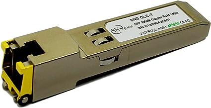 1000Base-T 100m 1.25G RJ45 Copper SFP Transceiver Module for Mikrotik S-RJ01