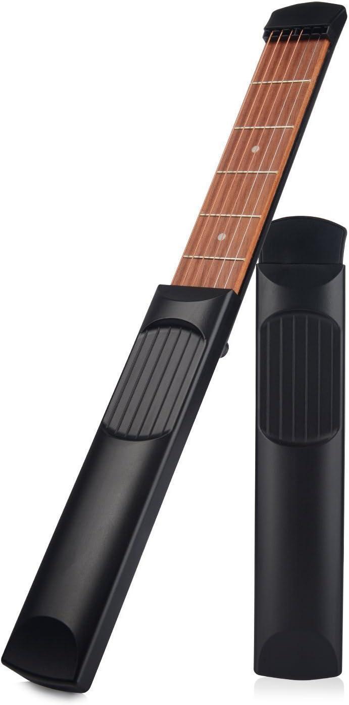 Zeerkeer Guitarra acústica Bolsillo Guitarra Práctica Guitarra ...