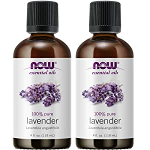 Lavender Oil From NOW 8 OZ (4OZ X 2)