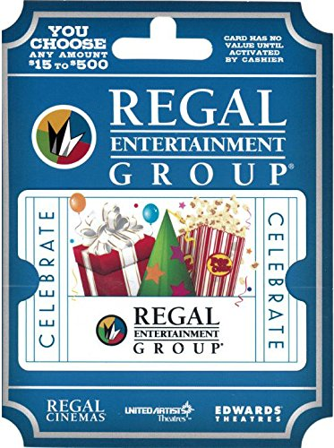 amazoncom regal entertainment gift card 25 gift cards
