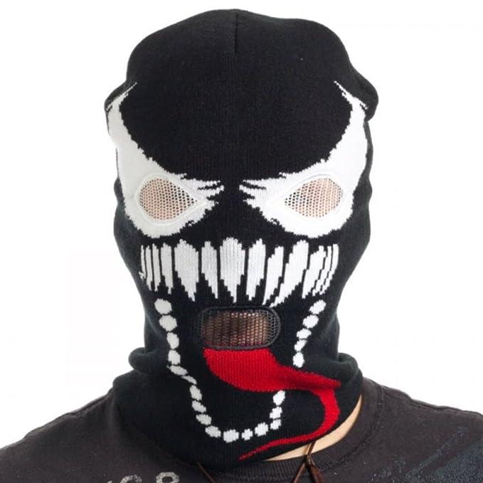 Marvel Comics Venom Cara máscara de esquí Beanie
