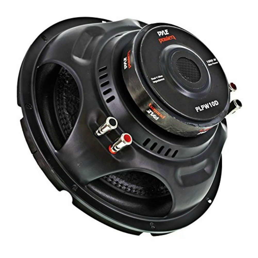 "SUB SUBWOOFER CAR PYLE PLPW10D PLPW 10D OF 10"" 25,00 CM: Amazon.co.uk:  Electronics"