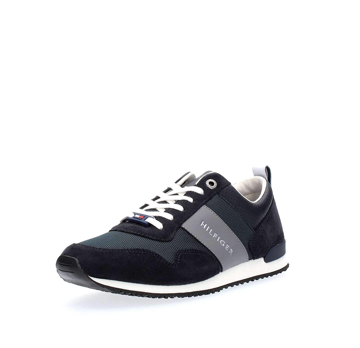 Tommy Hilfiger FM0FM02273 Iconic Sneakers Uomo Midnight 41