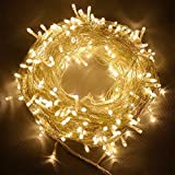 Satyam Kraft 5 Meter 50 LED Warm White LED Rice String Light Fairy Light Christmas Home Decoration Light,Copper Wire Indoor Outdoor Bedroom Christmas Tree Lights Indoor Outdoor Decoration Fairy Light