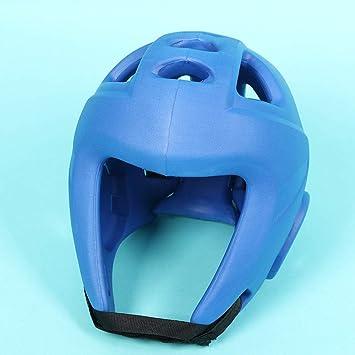 Faux Leather Boxing Arts MMA Helmet Head Fighting Guard Headgear Head Protection