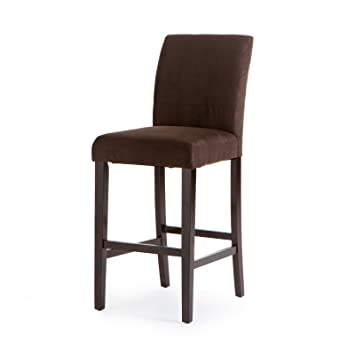 Fine Amazon Com Home Direct Chocolate Brown Contemporary Classic Unemploymentrelief Wooden Chair Designs For Living Room Unemploymentrelieforg