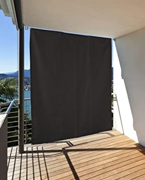 Häufig Amazon.de: Vertikaler Sonnenschutz Windschutz Sichtschutz Balkon LT17