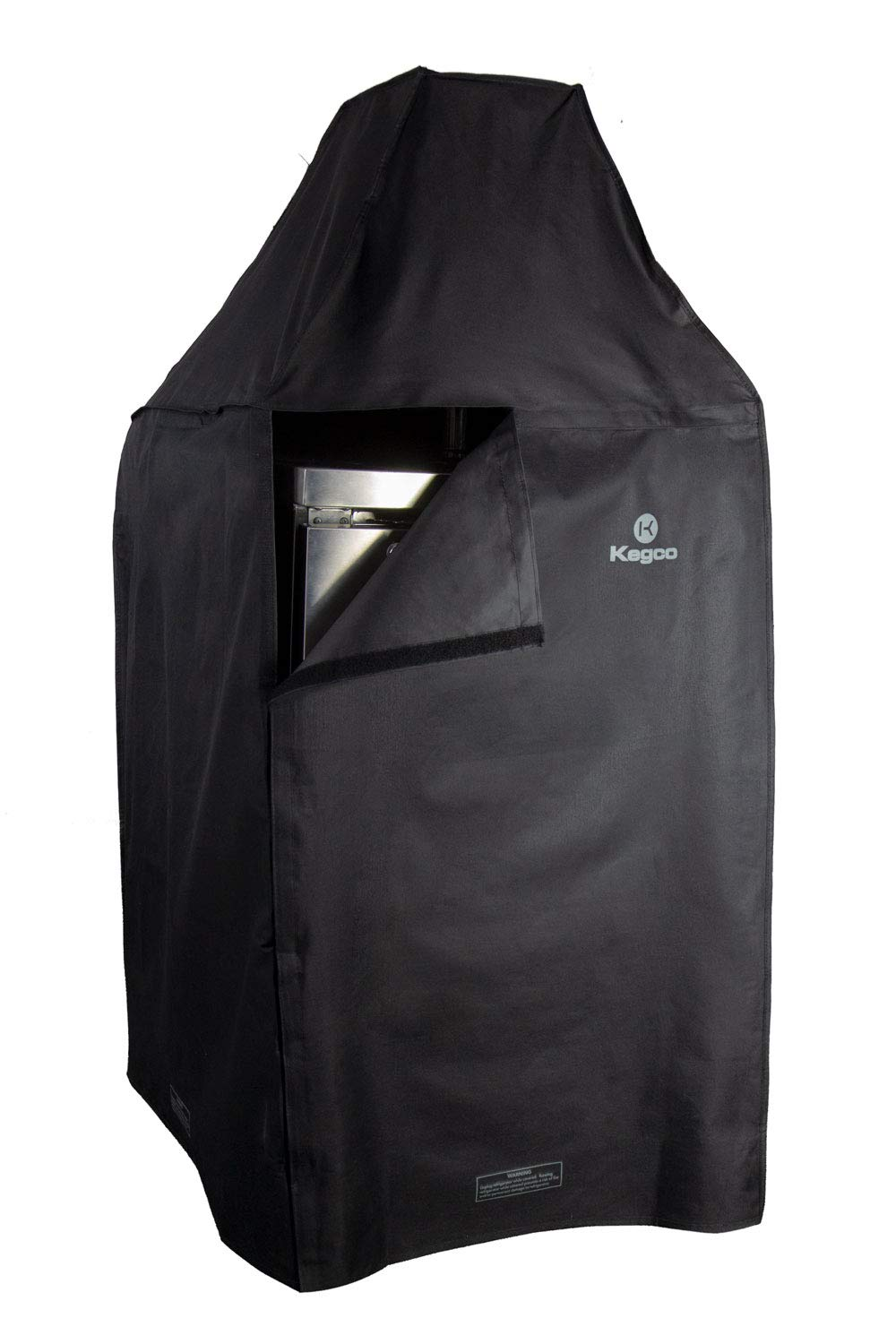 Kegco TX-KCVDP-39L EZ-On Commercial Kegerator Cover with Velcro Lined Door Panel