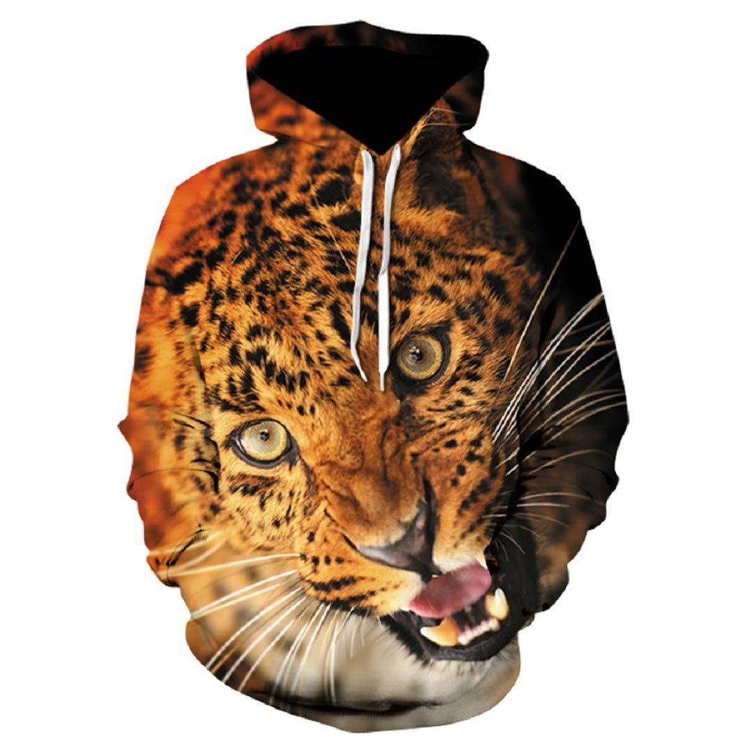Unisex Sika Deer 3D Print Animal Wolf Alisister Hip Hop Sweatshirt