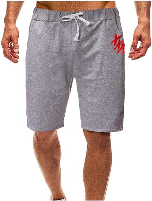 Hombre Pantalón Corto Pantalones Deportivos Fitness ...