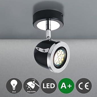MSTAR Spotbalken Deckenspot LED Deckenstrahler Deckenleuchte Deckenlampe Spots Strahler Deckenbeleuchtung Lampe Wandspot Fr Wohnzimmer