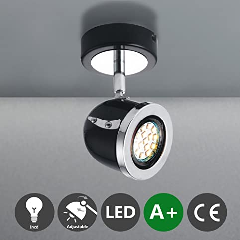 MSTAR Spotbalken Deckenspot LED Deckenstrahler Deckenleuchte Deckenlampe Spots Strahler Deckenbeleuchtung Lampe Wandspot Fur Wohnzimmer