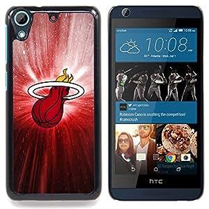 For HTC Desire 626 & 626s - Heat Basketball Poster /Modelo de la piel protectora de la cubierta del caso/ - Super Marley Shop -