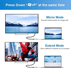USB to HDMI Adapter, 1080P HD Audio Video Converter, USB 3.0/2.0 to HDMI Multiple Monitors Cable, Compatible with Windows XP/10/8.1/8/7 (Not Support Mac, Linux, Vista, Chrome, Firestick)(Grey) (Color: Grey)