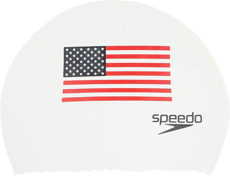 Speedo - Gorro de natación (látex) - USXLATEXSWIMCAP, Gorro de ...
