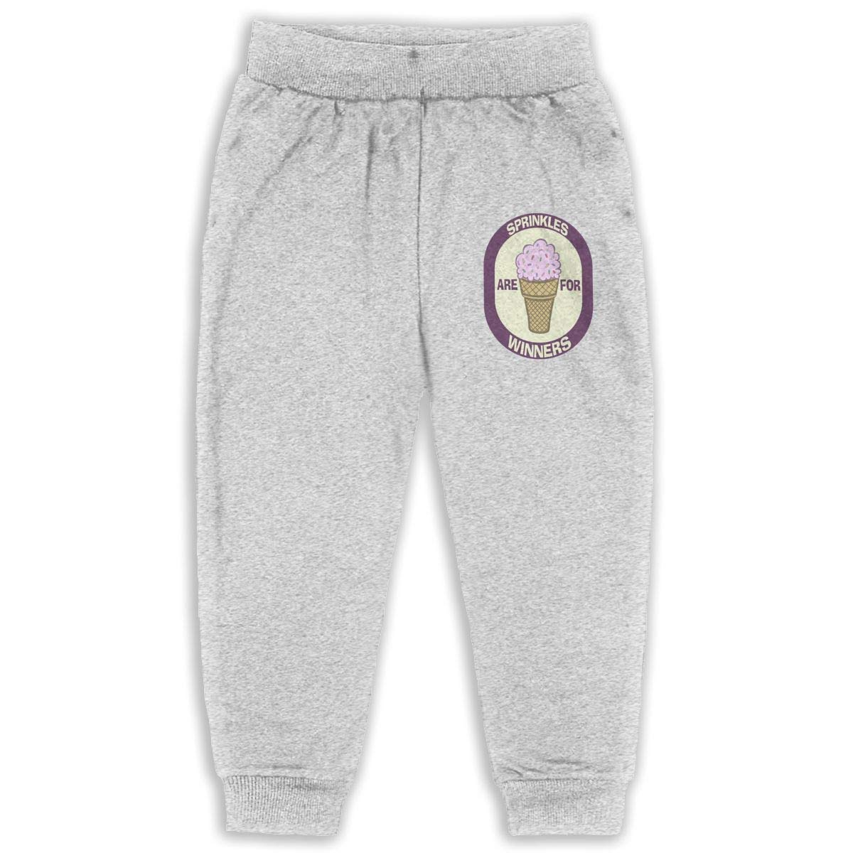 Sprinkles are for Winners Kids Cotton Sweatpants,Jogger Long Jersey Sweatpants