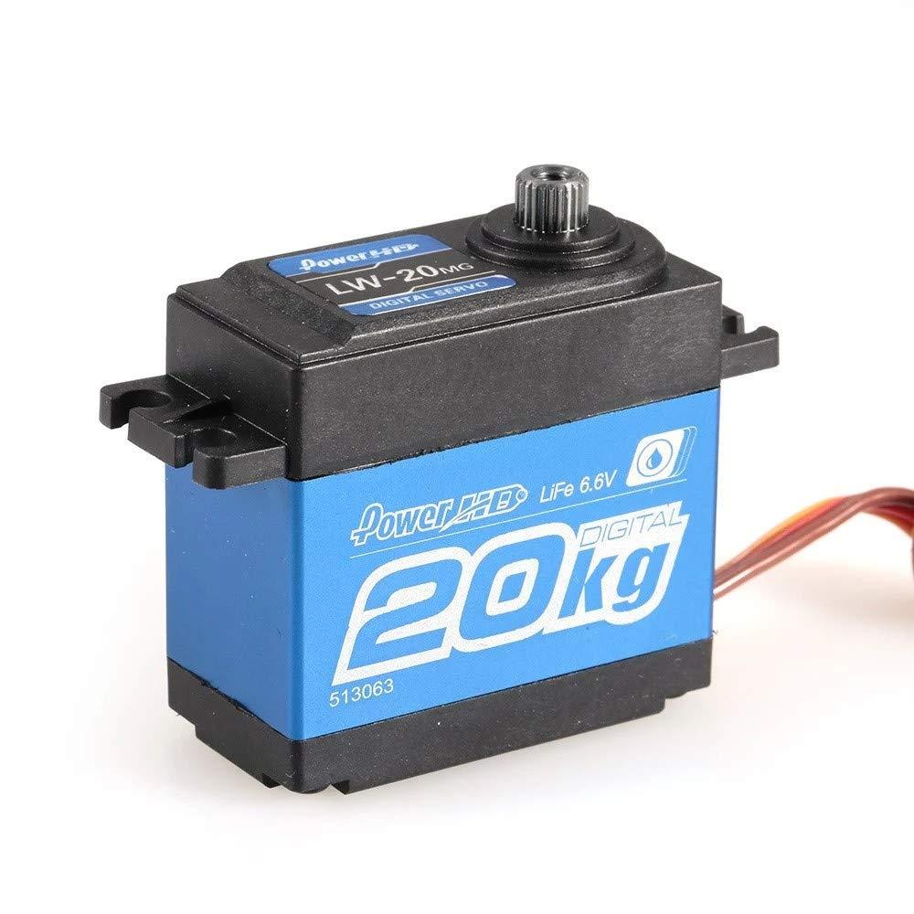 Waymine Power HD FC-20MG 標準防水デジタル高トルクステアリングサーボ B07JHZRZSY