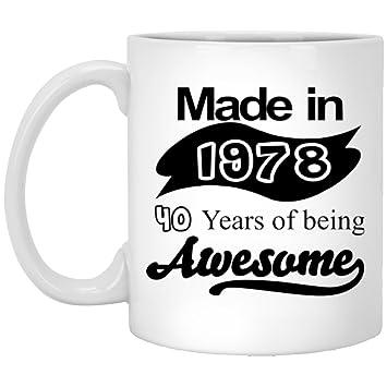 40th Birthday Mug