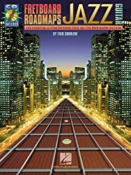 FRETBOARD ROADMAPS JAZZ GUITAR TAB BOOK/CD