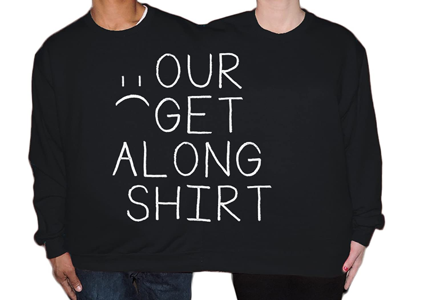 Amazon.com: Our Get Along Shirt Group Costume Two Person Halloween ...