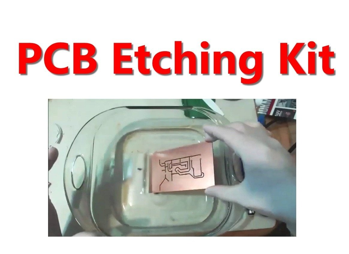 Buy Complete Etching Kit Type 2 Make Printed Circuit Board Home Boards At Electronics Epk073 Online Low Prices In India