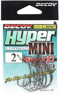 6416 Decoy Worm 27 Hyper Mini Worm Hook Size 2