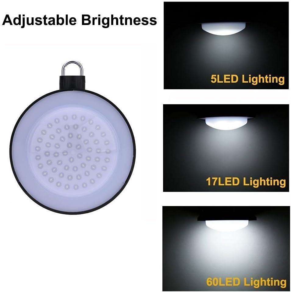 USB Aufladbar LED Camping Lampe Outdoor Laterne Powerbank N2 Akku Campinglampe
