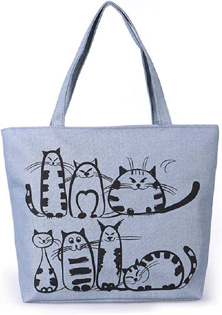Women Canvas Tote Shopping...