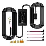 【改良型】 VANTRUE ドライブレコーダー用 電源ケーブル USB電源直結コード 降圧ライン 3m 24時間駐車監視用 12V/24V対応 5V輸出 四つヒューズホルダー付き R2 /R3/N2/N2 PRO/ X1/ X1 PRO/ X3 /ドライブレコーダー レーダー探知機 ミラー型ドライブレコーダー GPS 対応