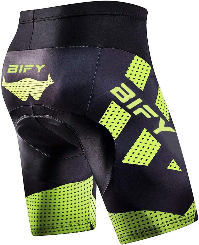 mit schnell trocknenden,atmungsaktiven,waschfesten Stoffe BIFY Fahrrad Unterhose//Fahrradhose//Radunterhose//Radsportshorts//Fahrradhosen f/ürdamen//M/änner,Mit elastischem 3D-Silikon-Sitzkissen