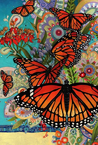 Toland Home Garden 1110777 Monarch Madness 12.5 x 18 Inch Decorative, Garden Flag (12.5