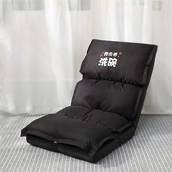 Amazon.com: DULPLAY Folding Lazy Sofa Chair Floor seat Five ...