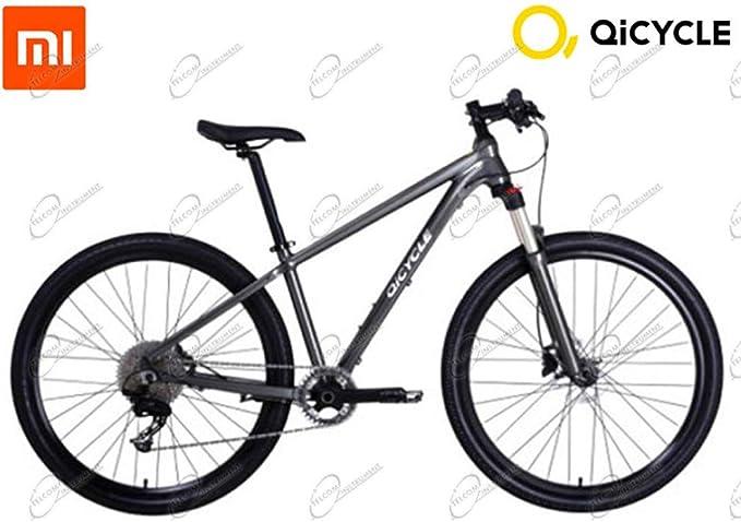 QiCycle - Bicicleta de montaña con Cuadro de Aluminio, Frenos de Disco y Cambio Shimano de XIAOMI QICYLE MTB HA GPS a Bordo: Amazon.es: Deportes y aire libre