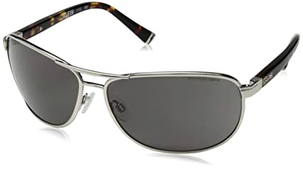 32c58210c1 Amazon.com  Wiley X Klein Smoke Grey Silver  Sports   Outdoors