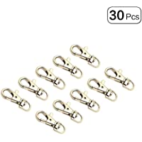Swivel Trigger Eye Lobster Snap Claw Clasp Hooks for Straps Bags Belting leathercraft 30Pcs