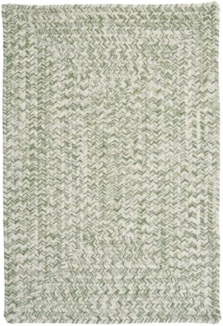 Catalina Polypropylene Braided Rug, 7-Feet by 9-Feet, Greenery