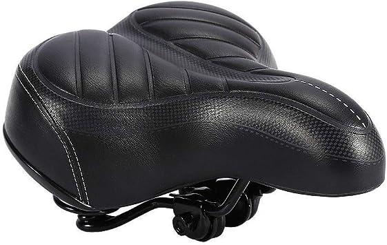 Comfort Wide Big Bum Bike Bicycle Gel Cruisers Extra Sporty Soft Pad Saddle Seat