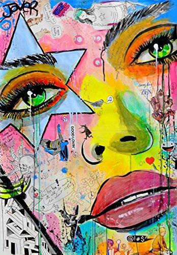 Kings Wood Art LJ_Everyday Zen 46x32 Fine Art Canvas Print, Multicolor by Kings Wood Art