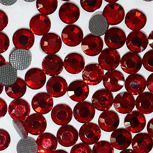 720pcs Ss20 About 5mm Dmc Iron on Hot Fix Crystal Rhinestones Diamond Gems Wholesale (Dark Red) (Dark Multi Crystal)